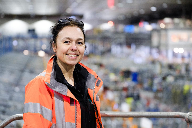 Sharon Mellor, Depot Facility Manager