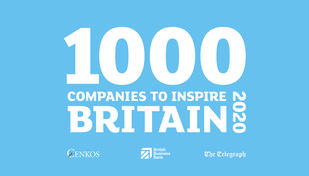 Arcus FM is named as one of '1000 Companies to Inspire Britain' for the second year running